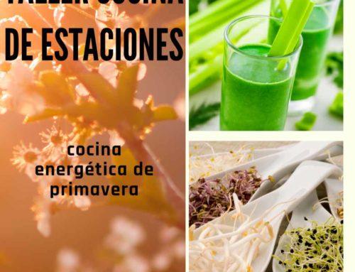 Curso de cocina energética de Primavera