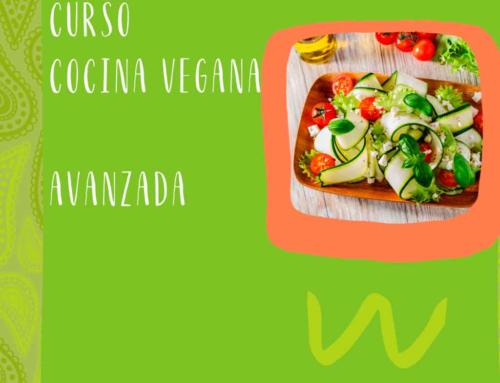 Curso de cocina vegana avanazada