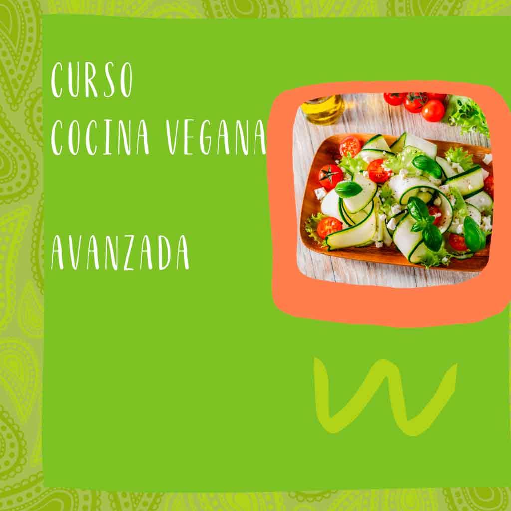 cocina vegana avanzada